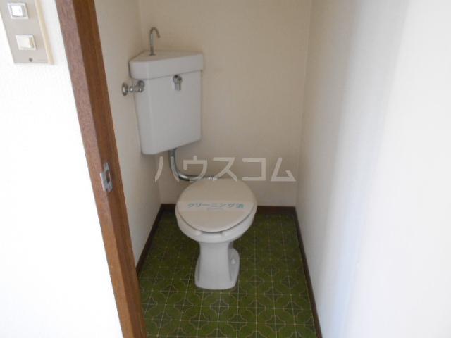 サンハイツ1 203号室のトイレ
