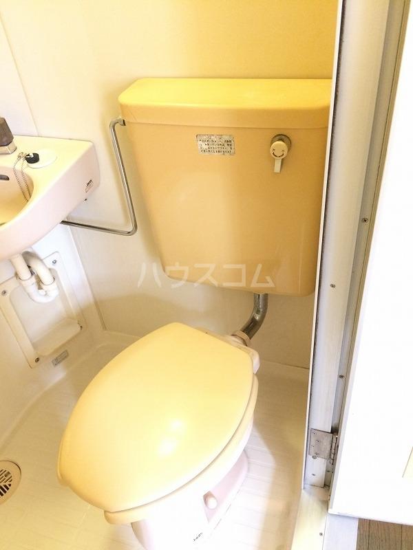 サンライト日吉 308号室のトイレ