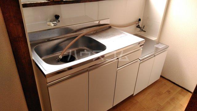 池田荘 5号室のキッチン