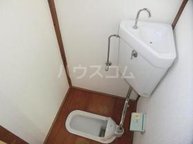 池田荘 5号室のトイレ