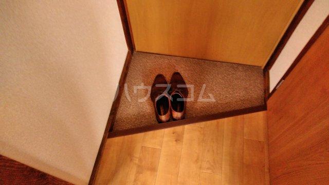 池田荘 5号室の玄関