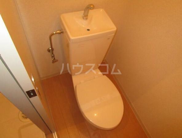 ショウジマンション 405号室のトイレ