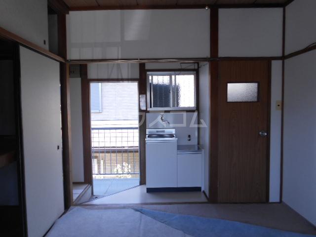 石黒荘 203号室のリビング