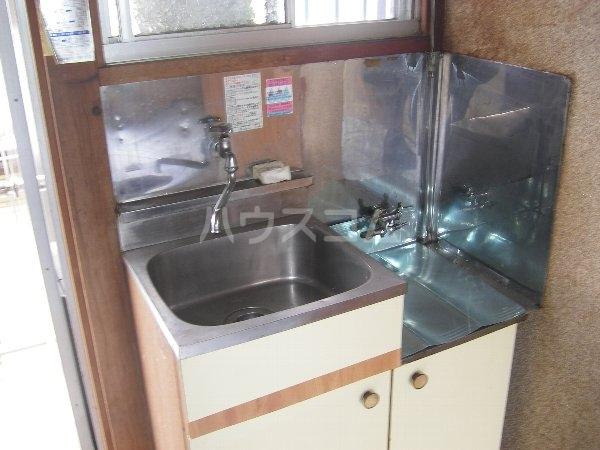 石黒荘 203号室のキッチン