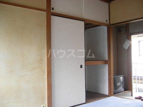 石黒荘 203号室の収納
