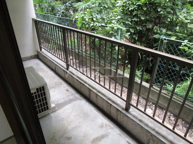 国分寺YSマンション 102号室のバルコニー