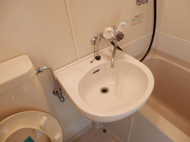 ハイツベルグ武蔵 202号室の洗面所