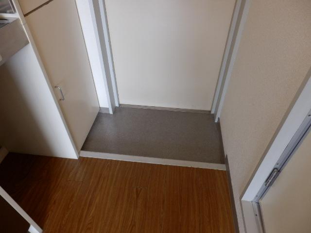 ハイツベルグ武蔵 202号室の玄関