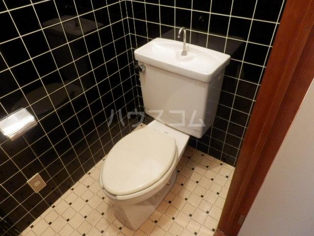 サンバレー 202号室のトイレ