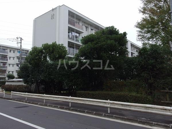 富士見町団地22号棟外観写真