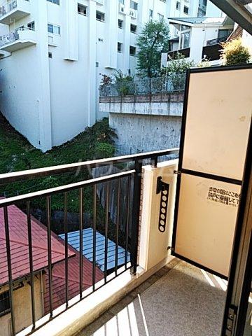 Annex日吉の杜 306号室のバルコニー