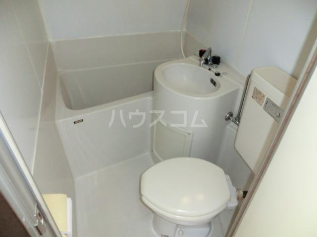 シティハイム立川 203号室のトイレ