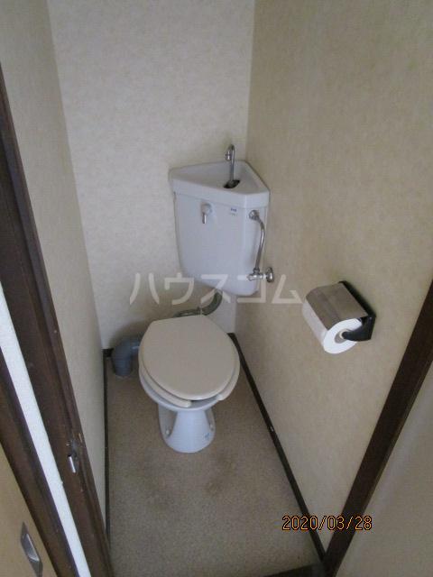 花沢ハイツ 201号室のトイレ