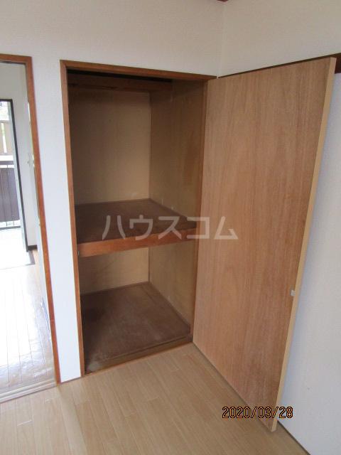 花沢ハイツ 201号室の収納