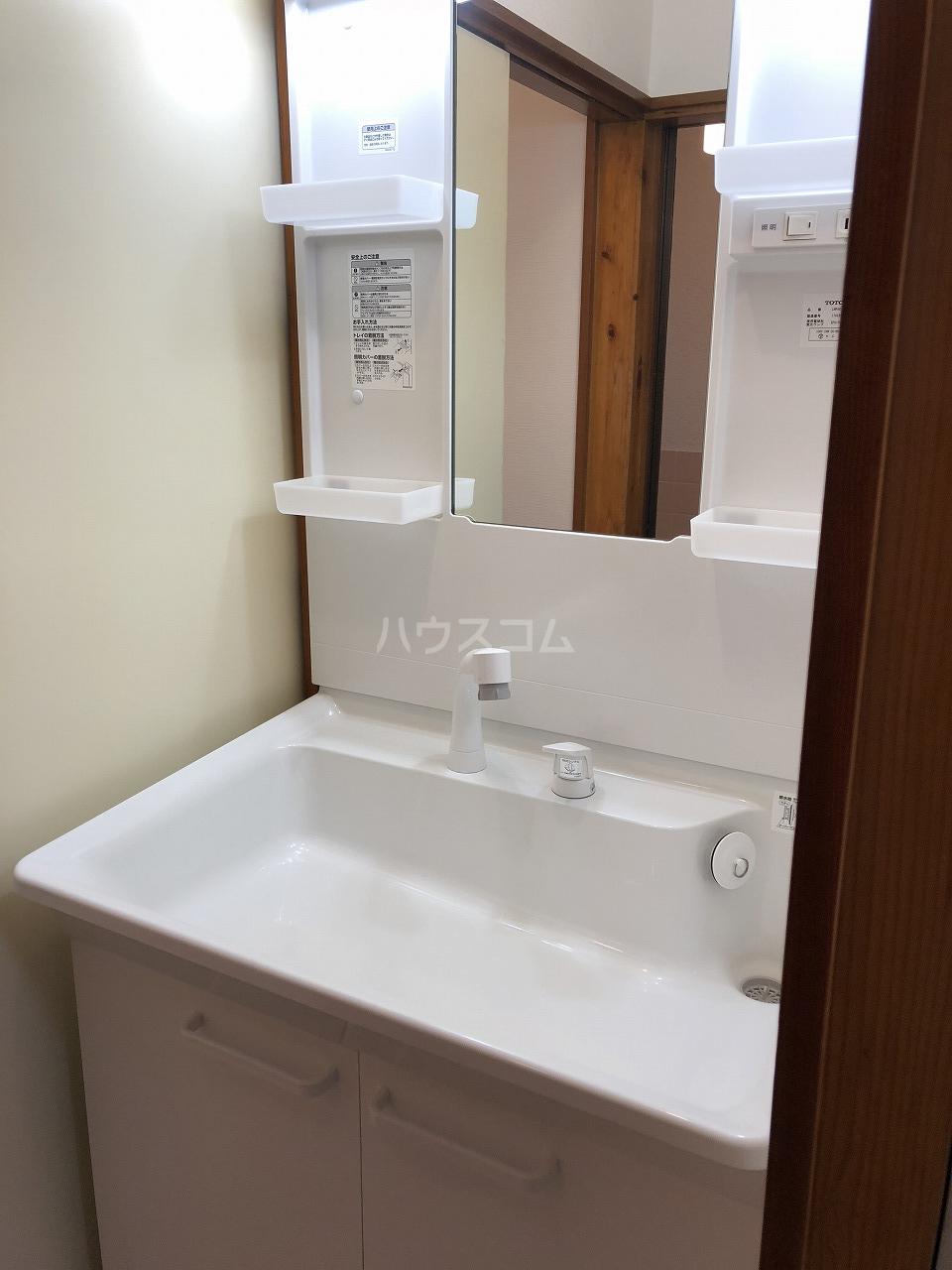 喜之(よしの)ハイツ 102号室の洗面所