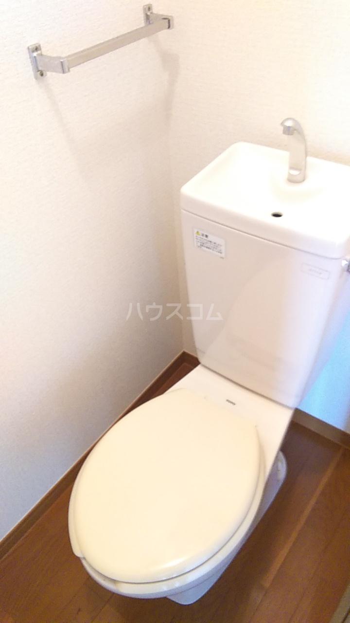 プチハウス坂倉 202号室のトイレ