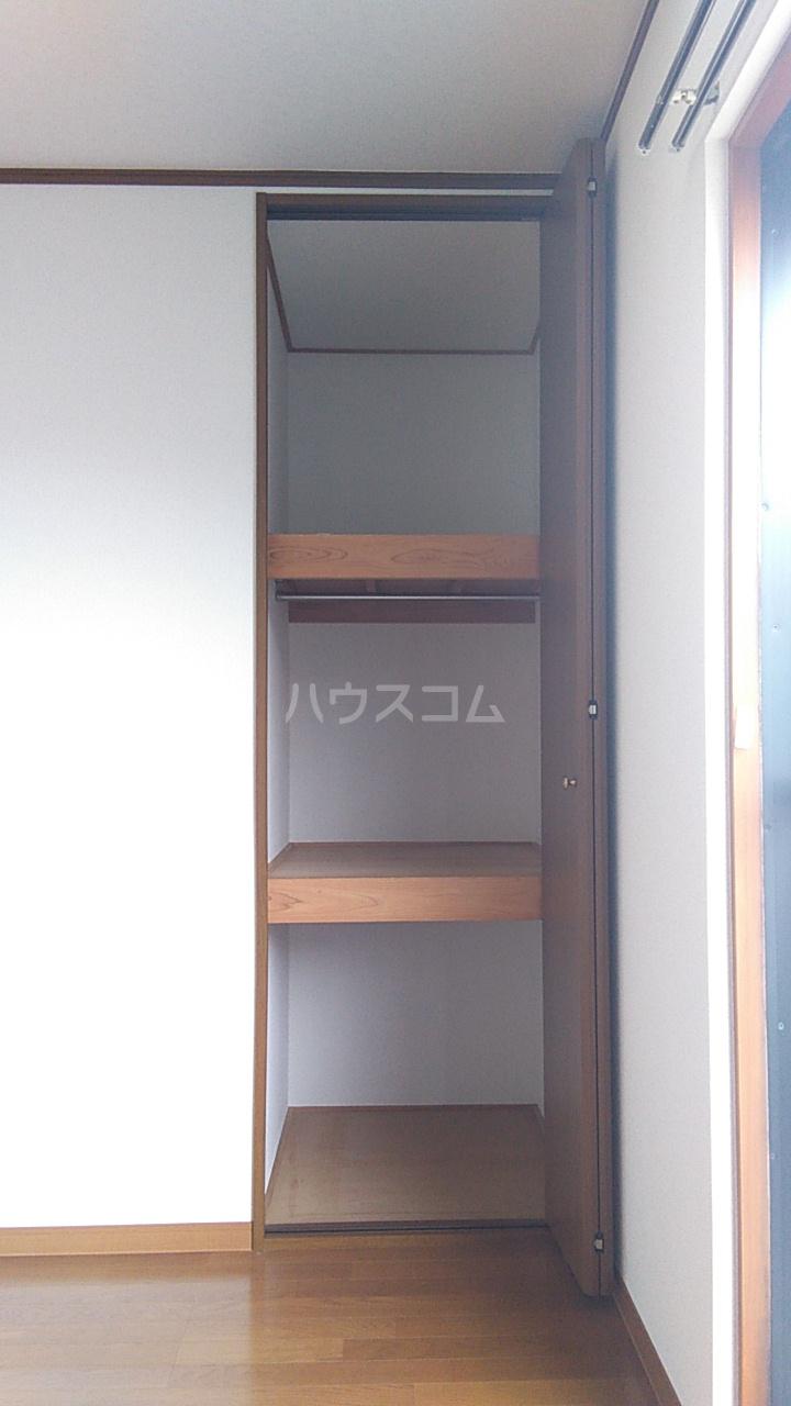 プチハウス坂倉 202号室の収納