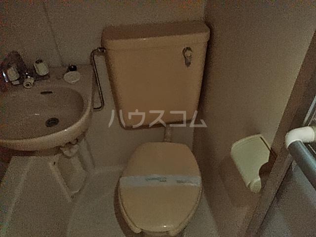 グラドゥアーレⅡ 307号室のトイレ