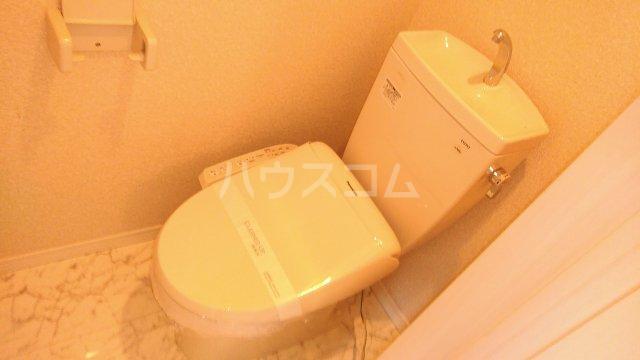 ユナイト鶴見バレンシアの丘 202号室のトイレ