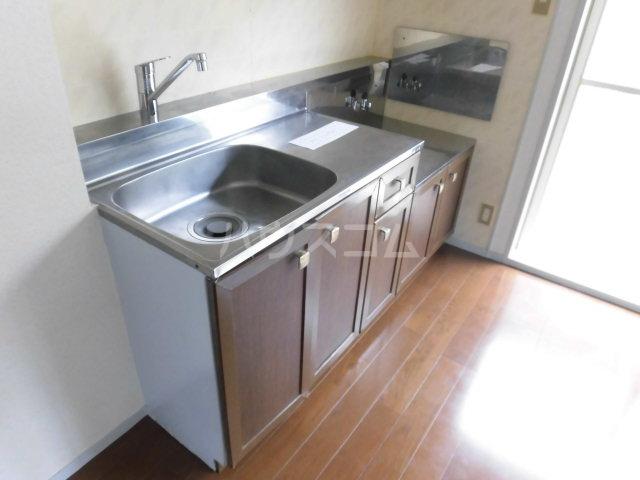 スカイプラザ 102号室のキッチン