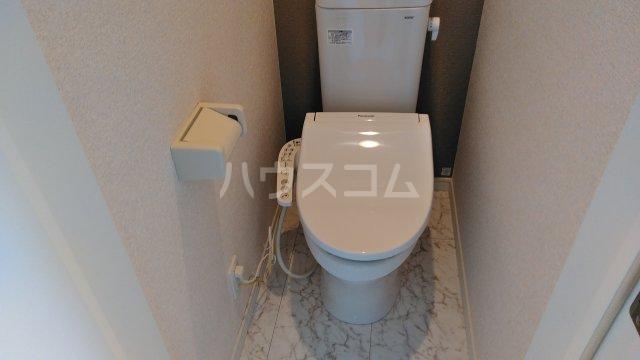 ユナイト浅田エリナーリグビー 206号室のトイレ