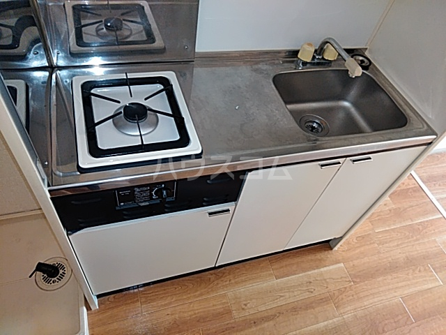 ドミトリⅡ 20A号室のキッチン