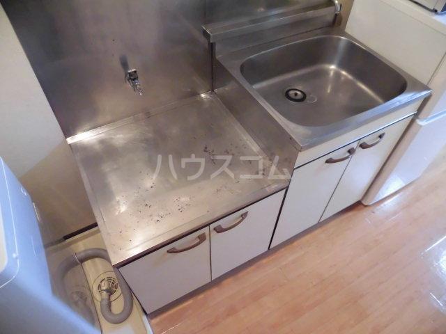 グリーンハイム志村2号棟 105号室のキッチン