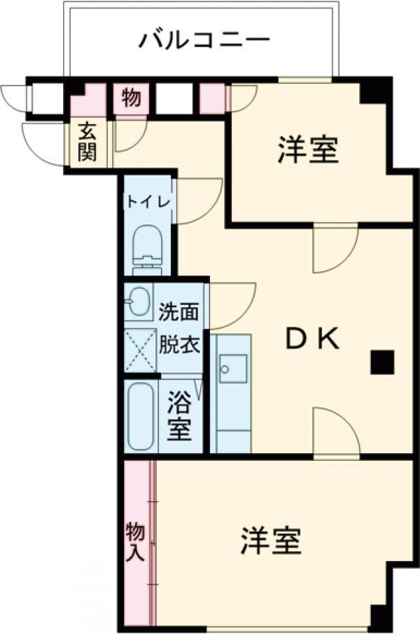錦町MSビル 302号室の間取り