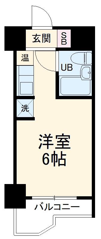朝日多摩川プラザ・201号室の間取り