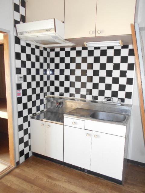 フルハウス 403号室のキッチン