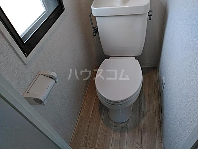 シャルム 402号室のトイレ