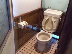 文化荘 201号室のトイレ