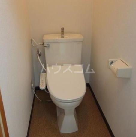 吉成荘 201号室のトイレ