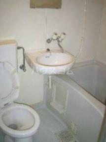 サンコーポ大口 203号室の風呂