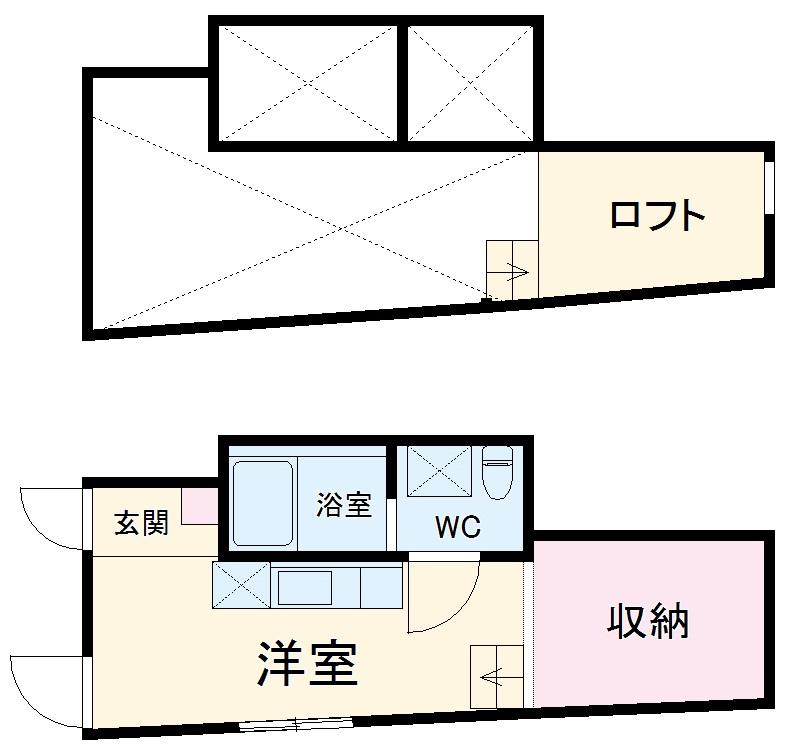 Confort横浜妙蓮寺・303号室の間取り