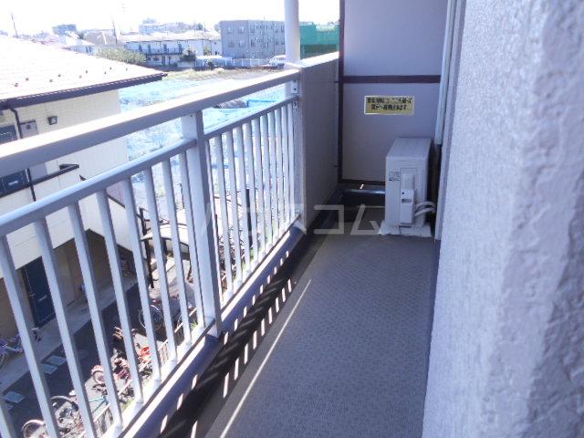 サンライズ泉 304号室のバルコニー
