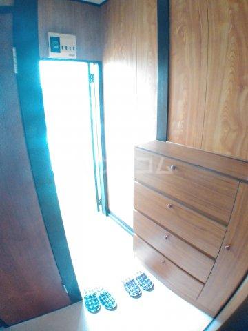 ホワイトキャスル 302号室の玄関