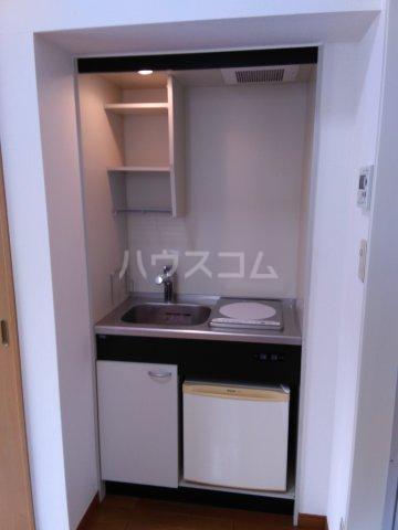 パルU 201号室のキッチン