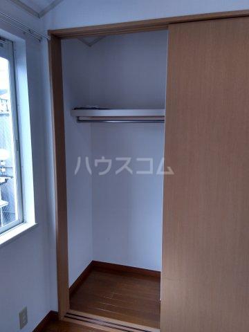 パルU 201号室の収納