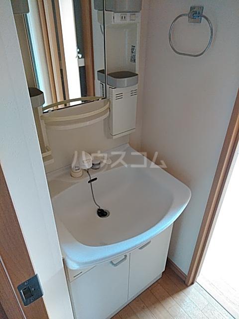 ディアコート日吉 202号室の洗面所