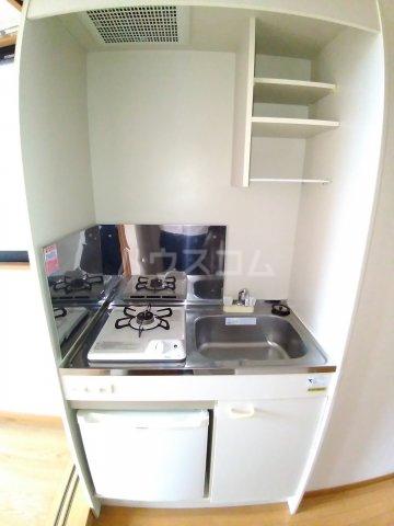 ビラ・デ・ローゼ 202号室のキッチン