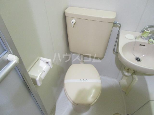 ヒルハウスコンフォート2 306号室のトイレ