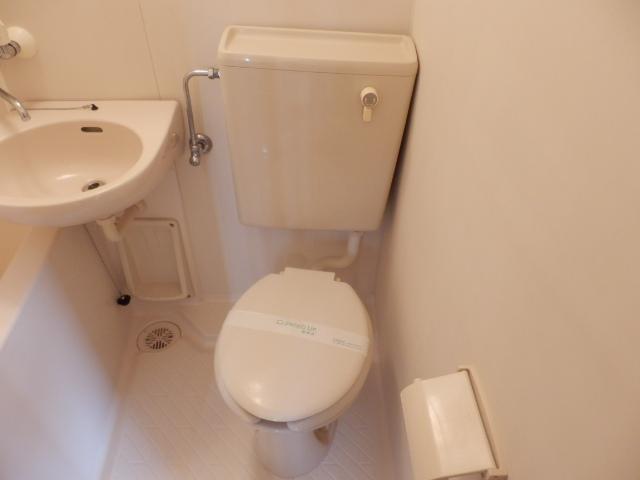 スカイハイツ 201号室のトイレ