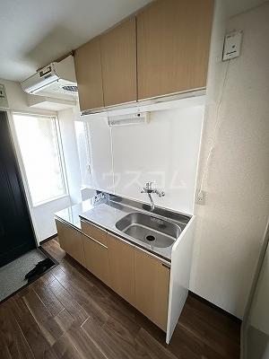 グランドール・ミズノ 201号室のキッチン