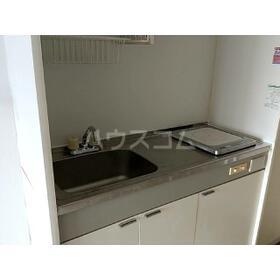 ハーブ西国立 302号室のキッチン