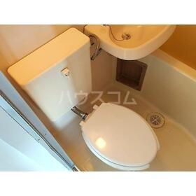 ハーブ西国立 302号室のトイレ