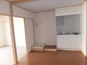 大南マンション 103号室のキッチン