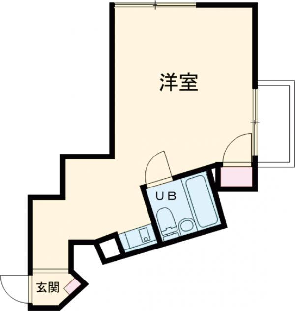 メゾン・ド・ノア・ロゼ錦町 0301号室の間取り