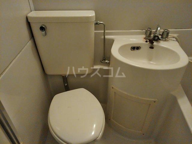 メゾンシャレー 103号室のトイレ