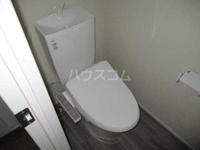 レラ武蔵新城 103号室のトイレ